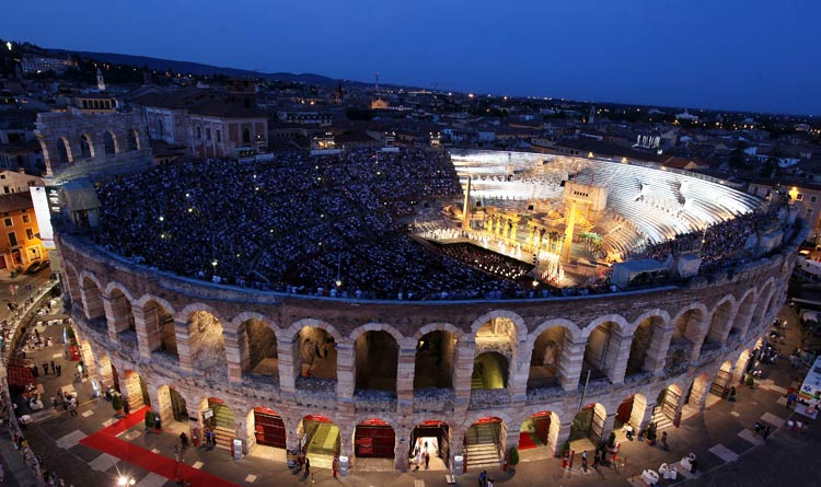 Opera at the Arena of Verona
