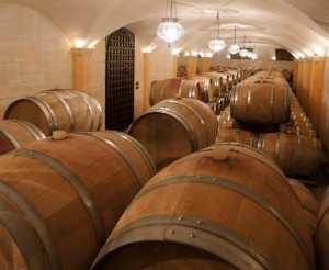 Barrique cellar at Allegrini