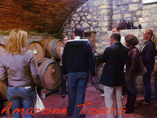 Monteleone winery in Sant'Ambrogio Valpolicella.