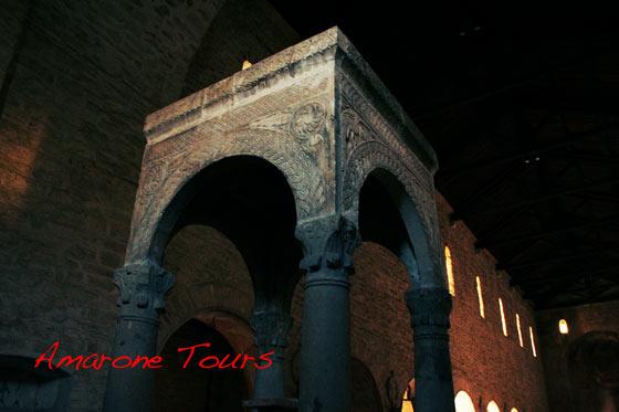 San Giorgio church ciborium