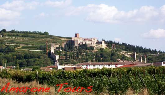 soave landscape castle