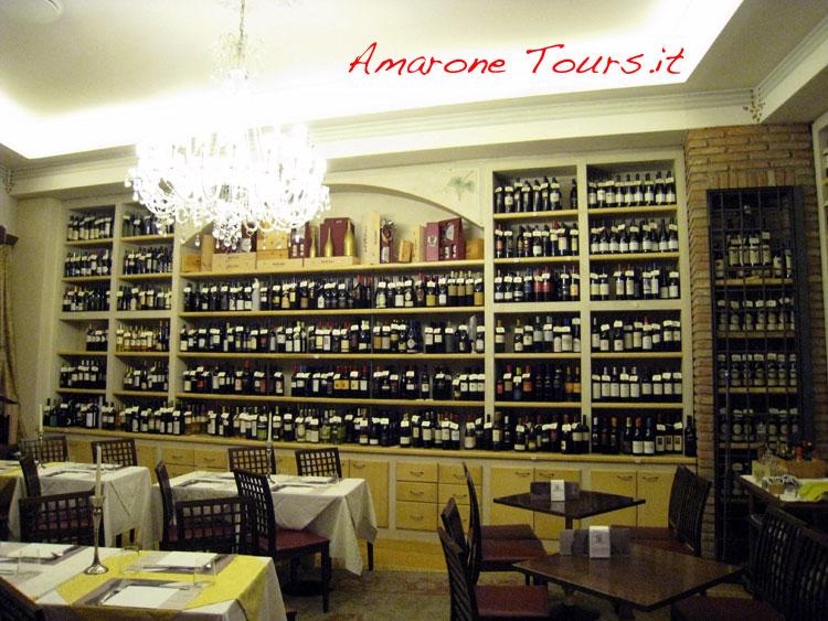 Wine shop (enoteca in Italian) in Verona - Italy.