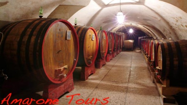 A typical winery tour in Valpolicella: Bertani and Allegrini