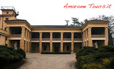 Villa Santa Sofia in Valpolicella. One of the masterpieces of Renaissance architect Palladio.