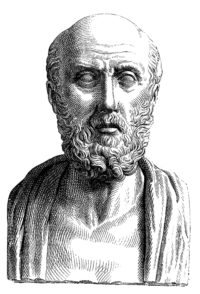 Ancient Greece physician Hippocrates