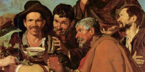 old men drinking wine