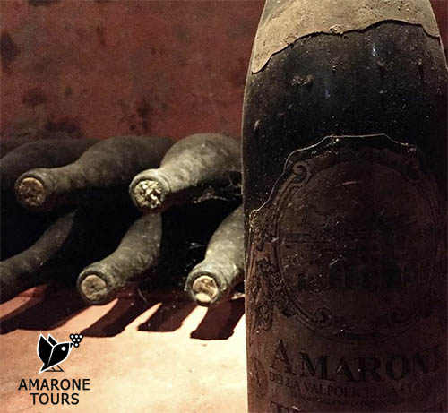 Very old bottles of Amarone
