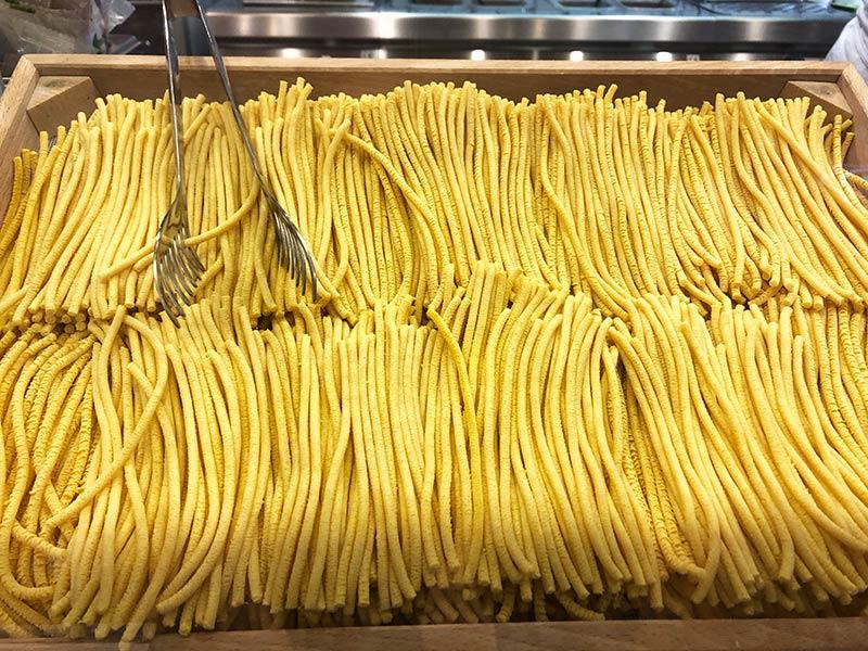 bigoli, Verona thick spaghetti