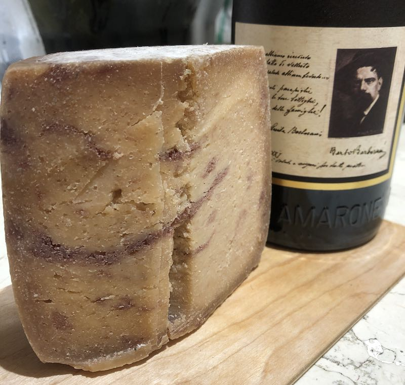 cheese made with amarone